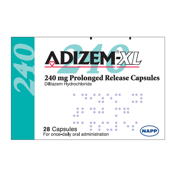 ADIZEM XL CAPS 240MG 28 - 2406387 edit