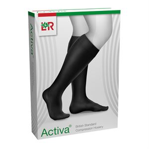 2782381 ACTIVA Class I Below Knee Closed Toe Black Medium - 1 and 2590669 edit
