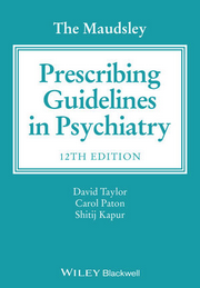 MAUDSLEY PRESCRIBING GUIDELINES - AHP0946