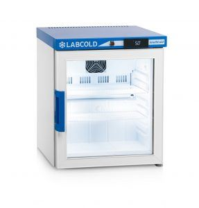 LABCOLD Pharmacy Fridge Bench Top Glass RLDG0119 Diglock AHP5722