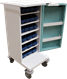 Small Compact Unit Dosage Trolley with Plastic Drawers PM501
